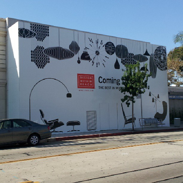 Design Within Reach store, West Hollywood, Los Angeles, California