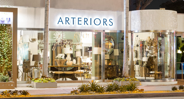 Arteriors, design showroom, west hollywood, los angeles, CA