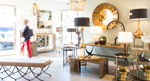 Arteriors, design showroom, West Hollywood, CA, Los Angeles, CA