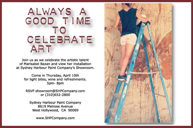 Sydney Harbour April 10 Event Paint Company