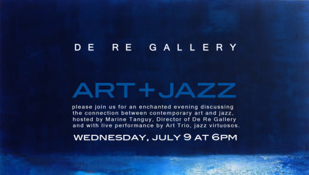 Art + Jazz event