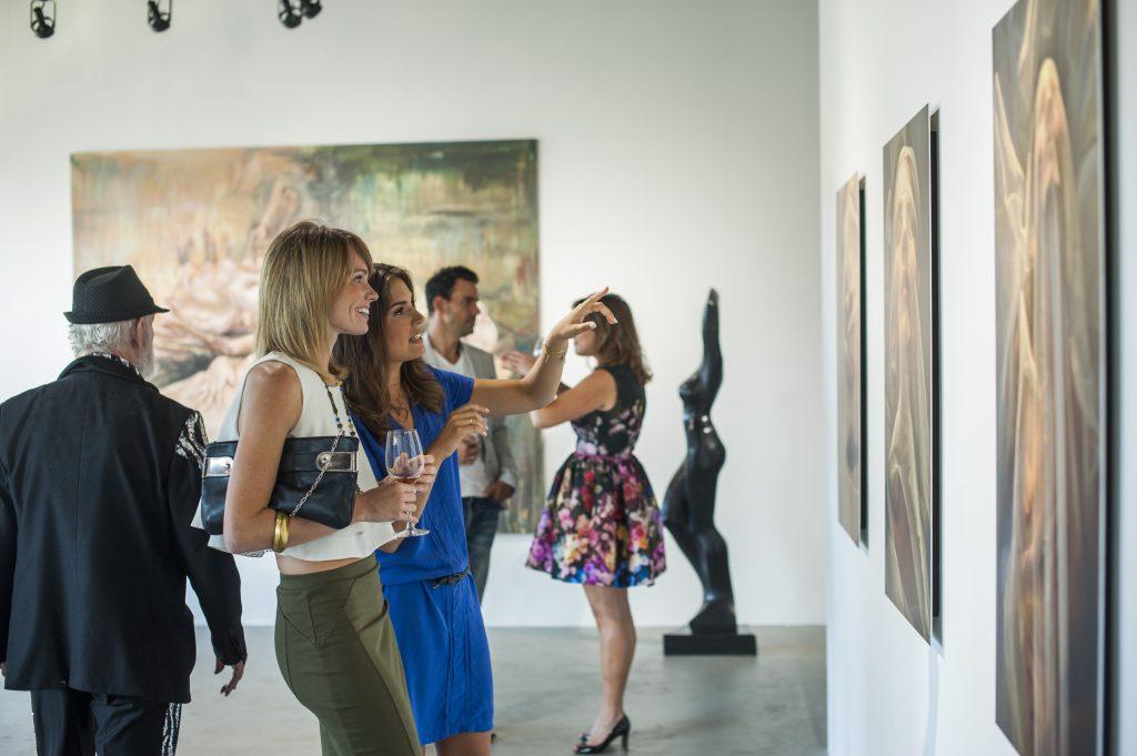 de re gallery event, marine tanguy