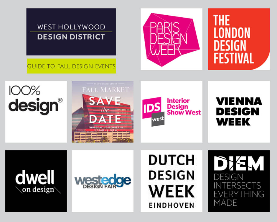 West Hollywood Design District Guide to Fall Design Events
