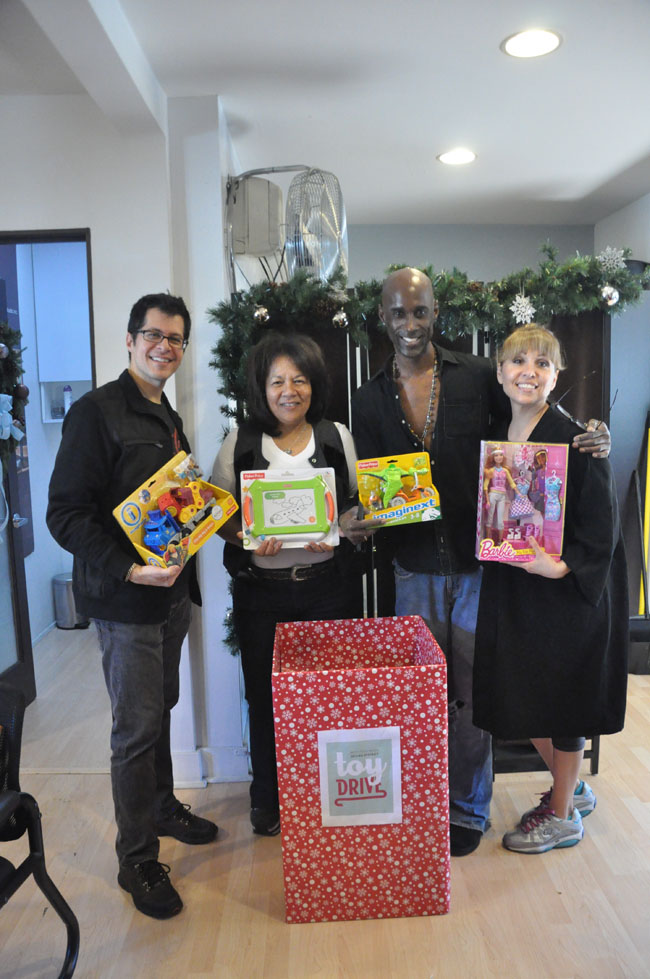 Marco Pelusi, City of West Hollywood Toy Drive 2014