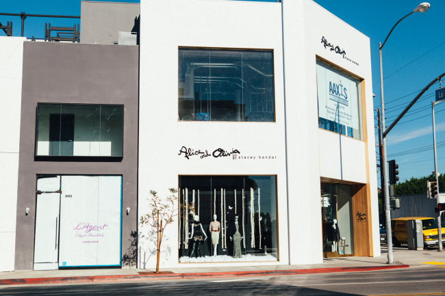 Alice + Olvia, L'Agent and E.P L.A, in the West Hollywood Design District