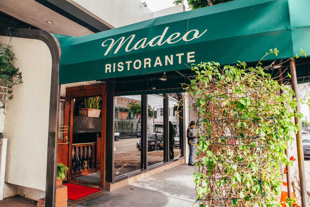 Madeo, located in the West Hollywood Design District