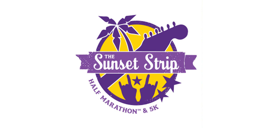Sunset Strip Half Marathon and 5k, Running through the West Hollywood Design District