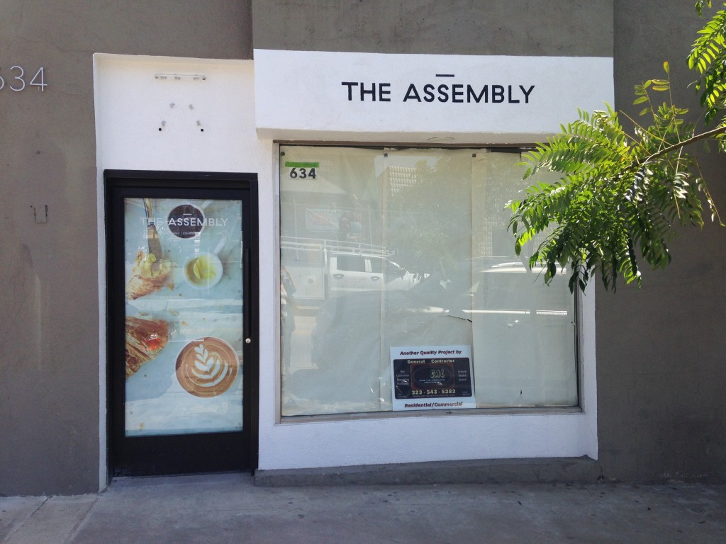 The Assembly Cafe, coming to the West Hollywood Design District
