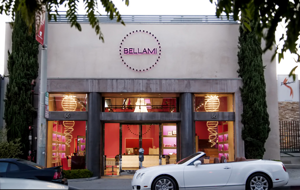 Bellami Beauty Bar, now open in the West Hollywood Design District