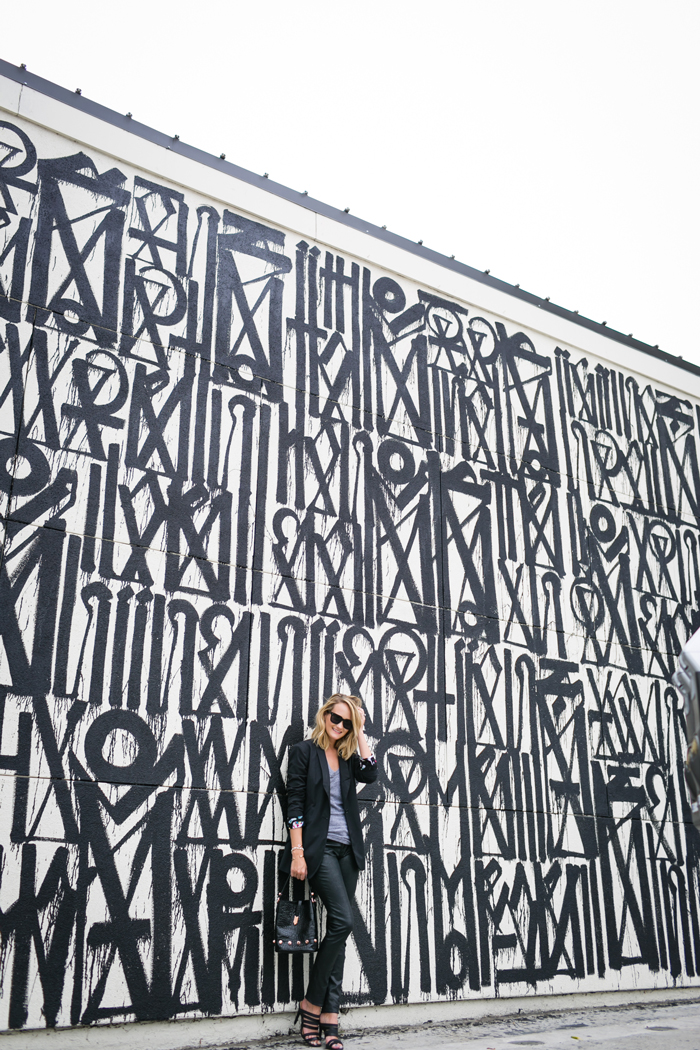 RETNA mural on Craig's, Style Editrix, West Hollywood Design District