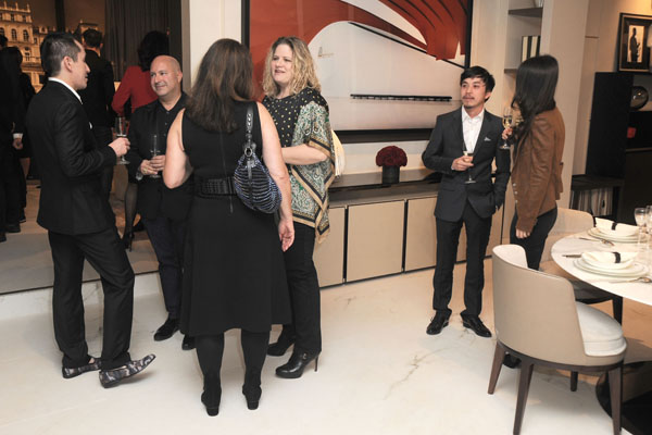 Atmosphere== Luxury Living Opens New Showroom in West Hollywood== Luxury Living Showroom, West Hollywood, CA== February 24, 2016== ©Patrick McMullan== Photo - DAVID CROTTY / PMC==