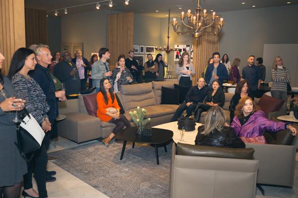 M&O West Coast Designer Celebration at Poltrona Frau